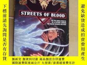 二手書博民逛書店(SHADOWRUN)罕見STREETS OF BLOOD 英文