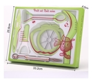 SK96 七件套 切水果西瓜神器雕花刀模具不銹鋼挖球勺水果刀拼盤廚房小工具套裝