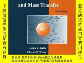 二手書博民逛書店Fundamentals罕見Of Momentum, Heat, And Mass TransferY2562