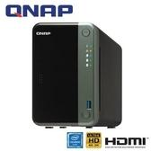 QNAP威聯通 TS-253D-4G 網路儲存伺服器
