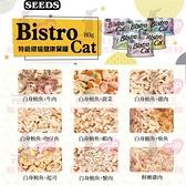 PRO毛孩王【單罐】SEEDS 惜時 Bistro Cat 特級健康銀貓罐 小銀罐 特級銀 貓罐 貓罐頭80G
