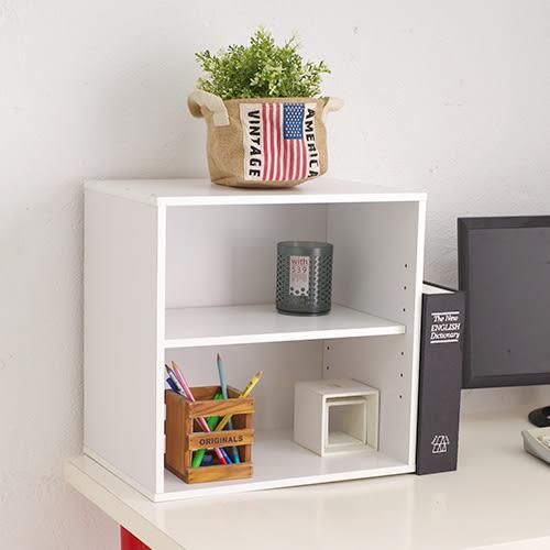台灣製 魔術方塊開放收納櫃 書櫃書架 電視櫃 展示架置物櫃《生活美學》
