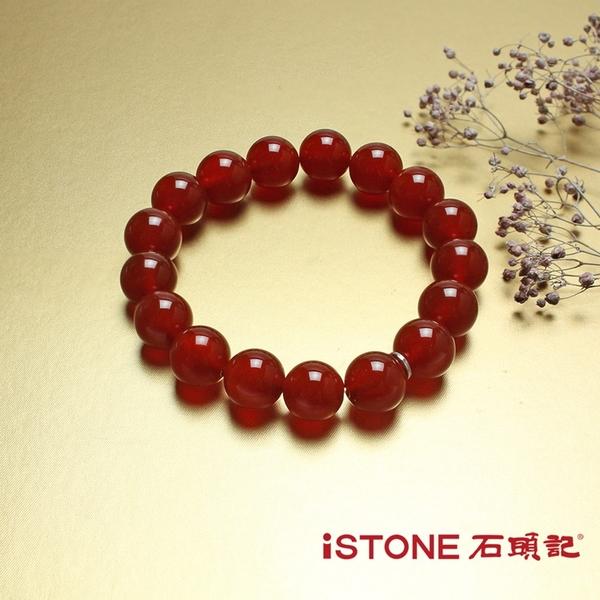 紅瑪瑙手鍊-品牌經典-12mm 石頭記
