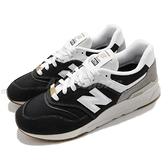 New Balance 休閒鞋 997H 輕量中底 黑 白 麂皮 男鞋 NB 百搭款【ACS】 CM997HHCD