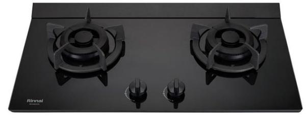(全省原廠安裝) 林內檯面爐 RB-M2600G(B) 極炎二口爐 (小本體+一般旋鈕)
