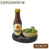 Hamee 日本 加藤真治 DECOLE concombre 悠閒時光系列 療癒公仔擺飾 (啤酒毛豆) 586-658799