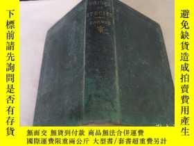 二手書博民逛書店THE罕見ORIGIN OF SPECIES(精裝)1891年版