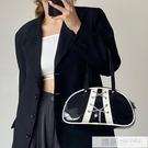 大容量包包女2020新款小眾復古手提包單肩漆皮錬條腋下包側背包潮 4.4超級品牌日