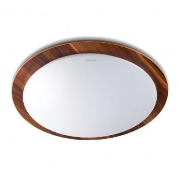 飛利浦雙色木紋30W LED調光吸頂燈-白光