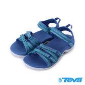 【TEVA 促銷9折】Tirra 輕量魔鬼氈織帶涼鞋 星河藍 TV4266GBML 女鞋