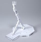 鋼彈支架 BANDAI 機動戰士鋼彈通用模型支撐腳架 白色