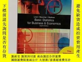 二手書博民逛書店Basic罕見Statistics for Business and Economics  Basic Stati