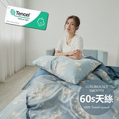 #6ST02#60支100%純天絲TENCEL6尺雙人加大床包被套四件組-台灣製(300織專櫃等級)