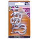 DIY用塑膠洋釘鉤 洋釘鈎 PVC大杯鉤...