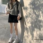 針織馬甲女外穿秋季寬鬆外搭毛衣背心外套【時尚大衣櫥】