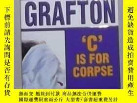 二手書博民逛書店英文原版罕見 C Is for Corpse by Sue G