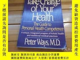 二手書博民逛書店TAKE罕見CHARGE OF YOUR HEALTH 照顧好你