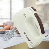 現貨 打蛋器電動家用迷妳烘焙打奶油攪拌自動打發器小型手持打蛋機【黑色地帶】