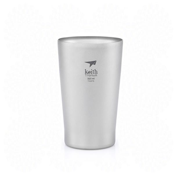 Keith純鈦 Ti9221雙層啤酒杯
