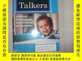 二手書博民逛書店Late罕見Talkers:;LANGUAGE DEVELOPMENT INTERVENTIONS AND OUT