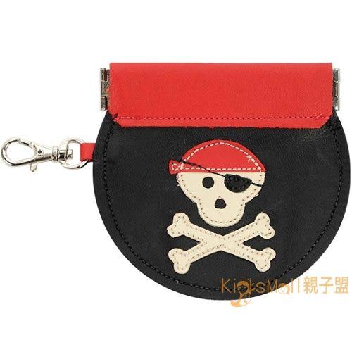 加拿大製Mally Designs,真皮手工零錢包Pirate,Black