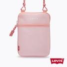 Levis 男女同款 隨身小包 / 簡約復古Logo / 甜美粉