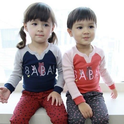 韓版《字母V領款》百搭長袖上衣