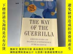 二手書博民逛書店英文原版:The罕見Way of the Guerrilla: