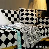 沙發墊歐式布藝四季通用防滑簡約現代客廳棉麻坐墊子沙發套靠背巾 LH3036【123休閒館】