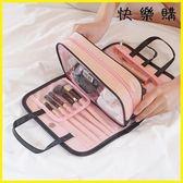 化妝包 化妝包手提洗漱包便攜多功能收納袋