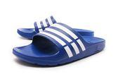 ADIDAS DURAMO SLIDE 男女經典休閒拖鞋 NO.G14309