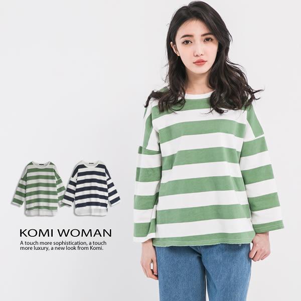 【KOMI】法國棉條紋上衣 (1691-901604)