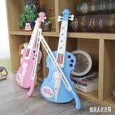 女孩可愛款電動小提琴玩具兒童啟蒙音樂琴寶寶生日禮物 yu2623『俏美人大尺碼』
