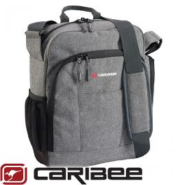 【Caribee 澳洲 DEPARTURE BAG 側背包《灰黑》】CE-1229/側背包/戶外/旅遊