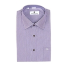 【南紡購物中心】【PIERRE BALMAIN 皮爾帕門】長袖襯衫-灰紫色細條紋(F1)
