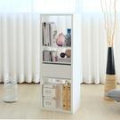 台灣製 布拉格3格收納系統櫃 雪白色 書櫃 展示架 展示櫃 收納櫃 電視櫃《YV9189》快樂生活網