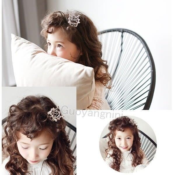 果漾妮妮 韓國立體高檔皇冠款兒童髮箍/公主髮圈/寶寶髮飾/拍攝寫真-大人亦可【C8723】