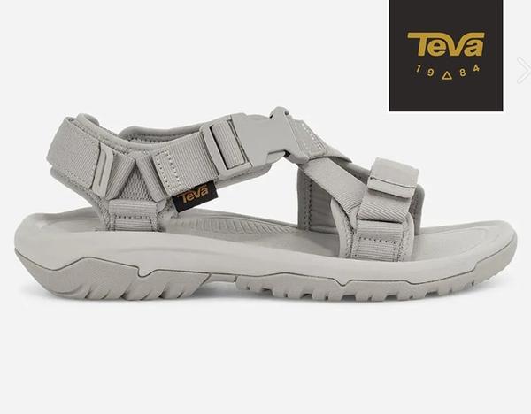 丹大戶外【TEVA】美國 女 HURRICANE VERGE 水陸機能涼鞋 1121535SLCL 石灰色