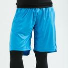 COOLMAX 籃球褲 短褲 涼感 高機能 運動褲 快速吸濕排汗 空軍藍 台灣製造