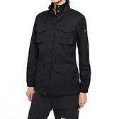 NIKE 外套 NSW ESS M65 黑 多口袋 立領 健身 慢跑 運動 女(布魯克林) CZ8973-010