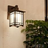 日式過道露台陽台壁燈門柱燈