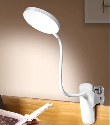 床頭燈 小臺燈學習專用大學生護眼燈書桌宿舍燈夾子式充電臺燈臥室床頭燈