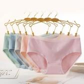 6條裝 女士內褲女純棉100%全棉抗菌襠少女可愛日系中腰三角褲大碼