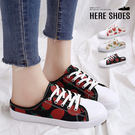[Here Shoes]休閒鞋-水果印花...