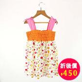 【愛的世界】肩帶露背洋裝/4~6歲-台灣製- ★春夏洋裝套裝