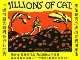二手書博民逛書店Millions罕見Of CatsY256260 Wanda Gag Penguin Usa 出版1996