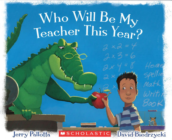 【麥克書店】WHO WILL BE MY TEACHER THIS YEAR/ 平裝繪本《主題: 上學去 Goes to School》
