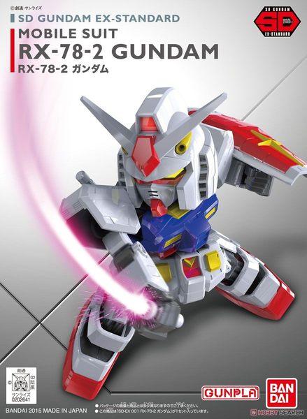 鋼彈模型 BB戰士 SD GUNDAM EX-STANDARD 001 RX-78-2 初代鋼彈 TOYeGO 玩具e哥