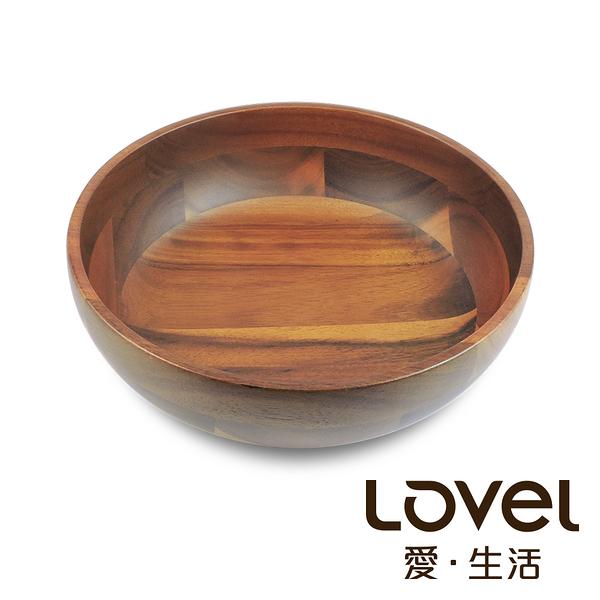 LOVEL 洋槐木沙拉碗19cm