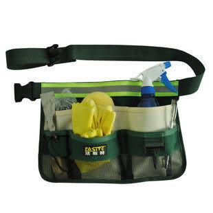 園林工具腰包 新款反光條 帶腰帶 清潔包 熱賣